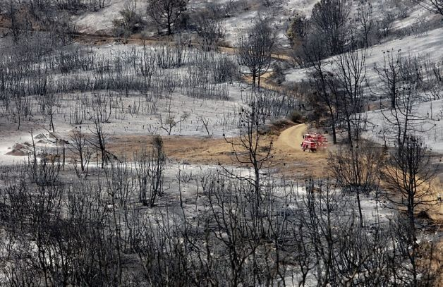 Shift in Weather Helps Mount Diablo Fire Crews