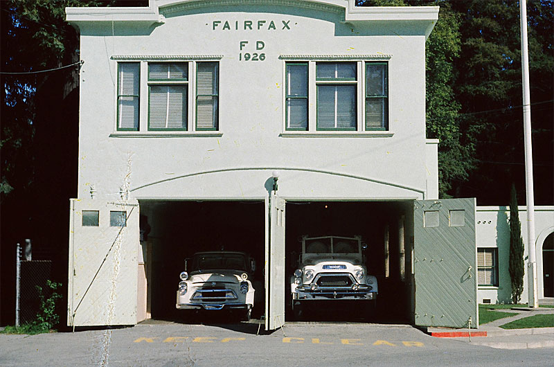 Fairfax Fire House, Circa 1960.