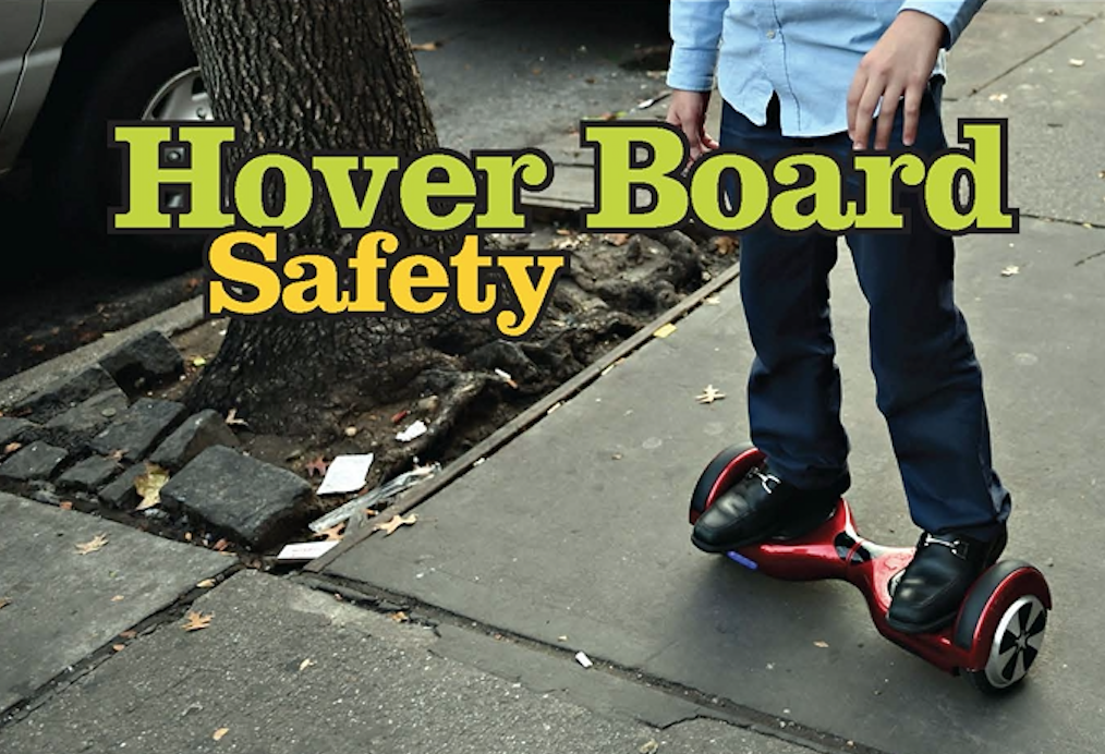 Hoverboard Safety Information.
