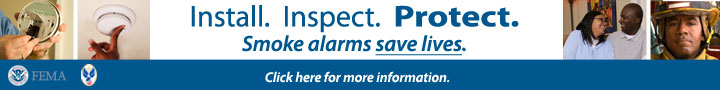 Install. Inspect. Protect. Smoke Alarms Save Lives.  Ross Valley Fire Department Smoke Detectors.